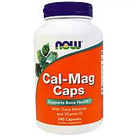 Кальций и Магний Now Foods 240 капсул NF1266, КОД: 1724817