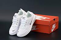 Мужские кроссовки Nike Air Max Axis premium White / Кеды Найк Аир Макс Асикс белые