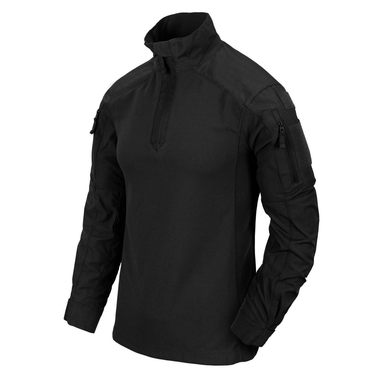 Рубашка боевая Helikon-Tex® MCDU Combat Shirt® - NyCo Ripstop - Black