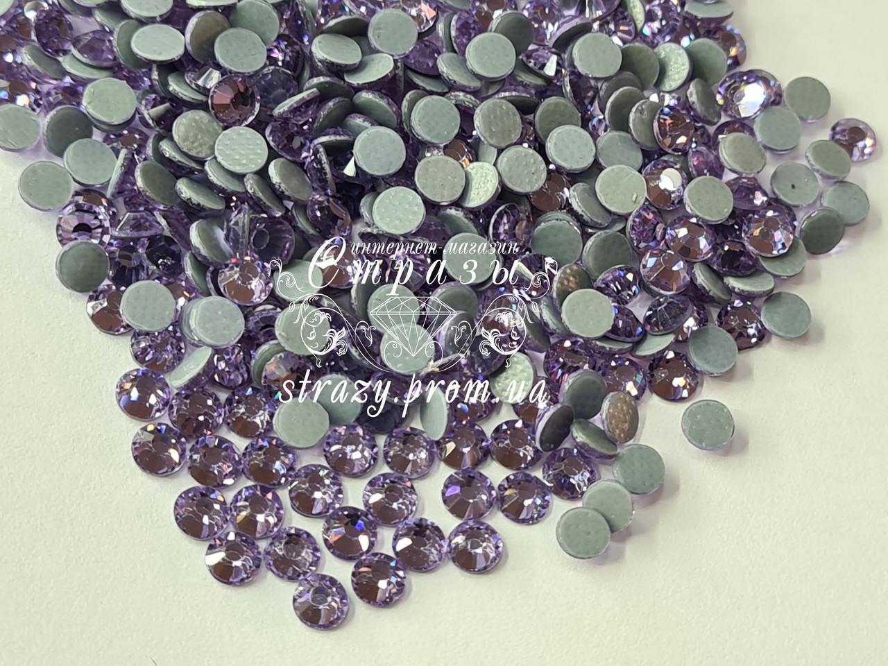 Термо стразы Lux ss16 Violet (4.0mm) 1440шт