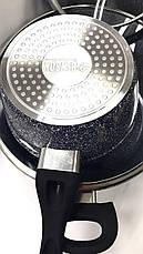 Набор кастрюль с гранитным покрытием 7 предметов BN-577, фото 2