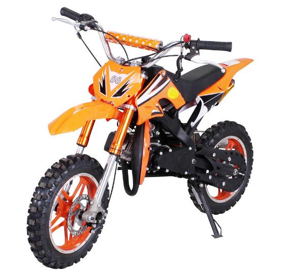 Детский бензиновый мотоцыкл MINI CROSS 50cc ПОЛЬША