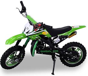 Детский бензиновый мотоцыкл, пит байк, мини кросс 50cc ПОЛЬША