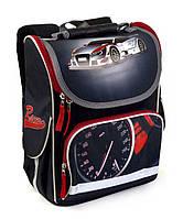 Школьный рюкзак короб для мальчиков Гонщик, ортопедическая спинка 35*25см, фото 1