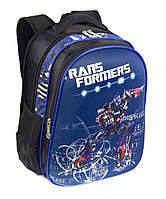Школьный рюкзак панцирь для мальчика с Трансформерами, ортопедическая спинка 39*29см