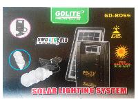 Внешний аккумулятор с солнечной батареей GD-LITE GD-8066, с FM радио
