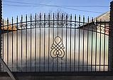 Профільний полікарбонат Suntuf колотий лід 1,06х2м прозорий 2УФ-захист, фото 6