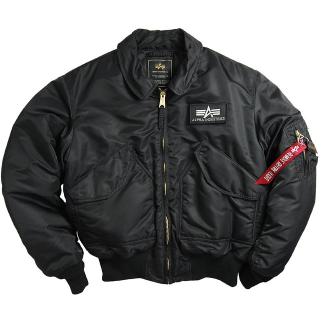 Мужская куртка Alpha Industries CWU 45/P Flight Jacket black