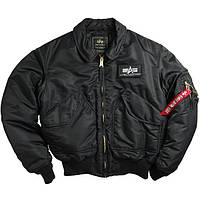 Мужская куртка Alpha Industries CWU 45/P Flight Jacket black, фото 1