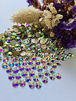 Стрази ss16 Crystal AB +++HongKong+++ (4,0 мм) 100шт. золота підкладка, фото 1