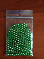 Посыпка кондитерская сахарная зеленая 10г разм 5 мм
