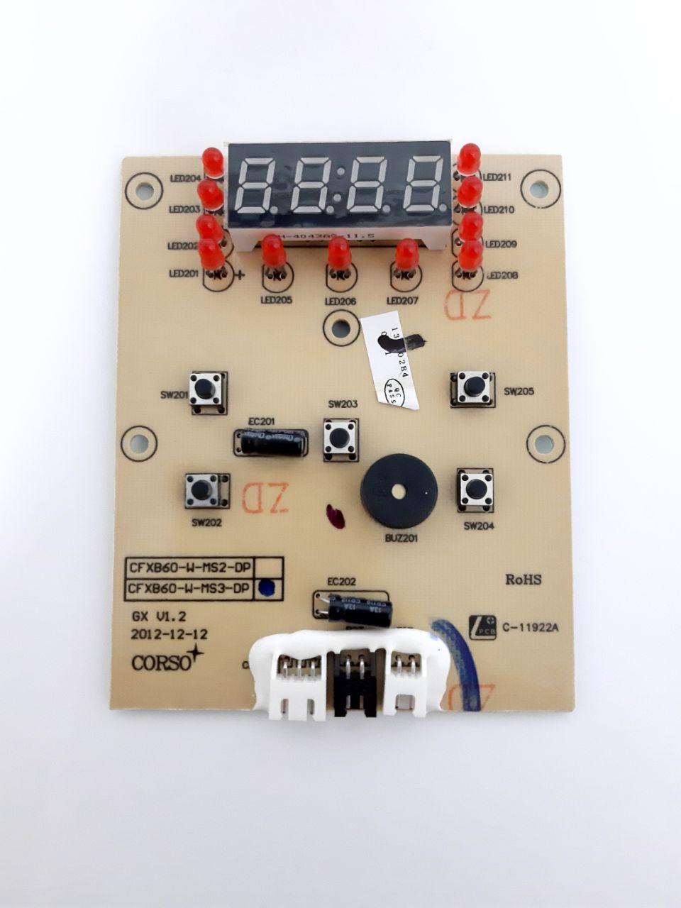 Плата управления на мультиварку Redmond RMC-M4503 (тип 2)