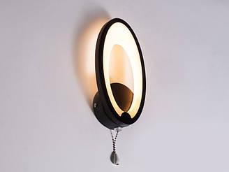 Настінний світильник світлодіодний колір коричневий 9W Diasha&1673/1CF