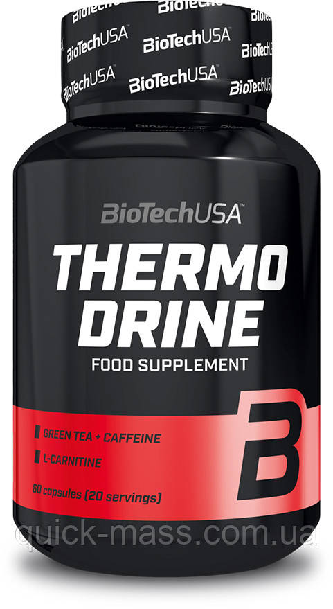 Жиросжигатель BiotechUSA Thermo Drine 60 caps