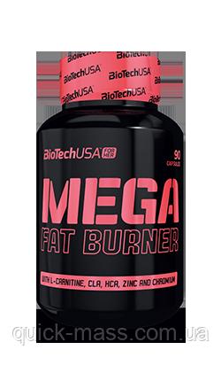 Жиросжигатель BioTech Mega Fat Burner 90caps