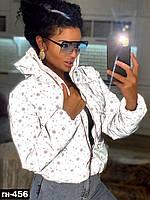 Женская качественная светоотражающая куртка Очень эффектная