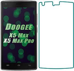 Защитное стекло Doogee X5 Max / X5 Max Pro (Прозрачное 2.5 D 9H) (Дуги Х5 Макс Мах Про)