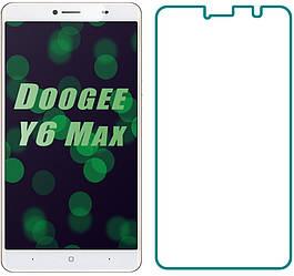 Защитное стекло Doogee Y6 Max (Прозрачное 2.5 D 9H) (Дуги У6 Макс Мах)