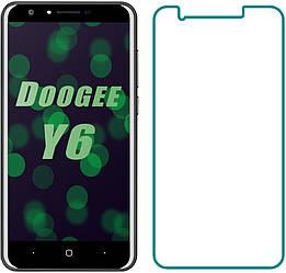 Защитное стекло Doogee Y6 (Прозрачное 2.5 D 9H) (Дуги У6)
