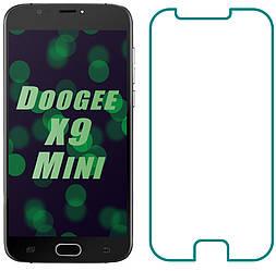 Защитное стекло Doogee X9 Mini (Прозрачное 2.5 D 9H) (Дуги Х9 Мини)