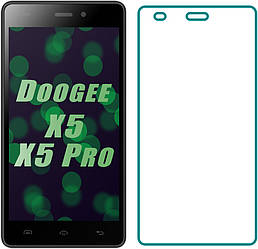 Защитное стекло Doogee X5 / X5 Pro (Прозрачное 2.5 D 9H) (Дуги Икс Х5)