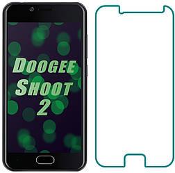 Защитное стекло Doogee Shoot 2 (Прозрачное 2.5 D 9H) (Дуги Шот Шут 2)