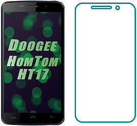 Защитное стекло Doogee HomTom HT17 (Прозрачное 2.5 D 9H) (Дуги Хомтом ХТ17)