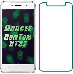 Защитное стекло Doogee HomTom HT37 (Прозрачное 2.5 D 9H) (Дуги Хомтом ХТ37)