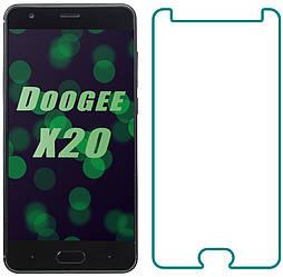 Защитное стекло Doogee X20 (Прозрачное 2.5 D 9H) (Дуги Икс Х20)
