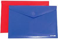 Папка-конверт Пластик А4 на липучке Е31303 Economix