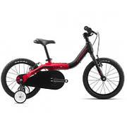"Детский велосипед Orbea Grow 1 16"" 2019 Black - Red (J00216K4)"