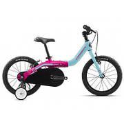 "Детский велосипед Orbea Grow 1 16"" 2019 Blue - Pink (J00216K5)"