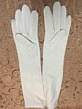 Длинные(44cm) кашемир женские перчатки/женские перчаткиженские перчатки, фото 2