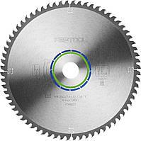 Спеціальний пиляльний диск 260 x 30 х 2,4 TF68 Festool 494607, фото 1
