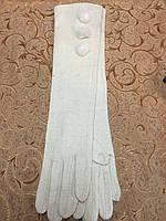 Длинные(44cm) кашемир женские перчатки/женские перчатки