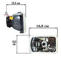 Дополнительные фары 170*110 штатные с двумя лампами Н4 и Н2