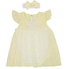 Дитячий комплект для дівчинки *Квіточка* (розміри 68,74,80. Колір блакитний,ментоловий,жовтий,рожевий)
