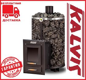 Банная печь-камин Kalvis PR3-S 10-12 кВт