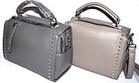 Женские молодежные клатчи, маленькие сумочки из искусственной кожи 24*17 см (серый и хаки)