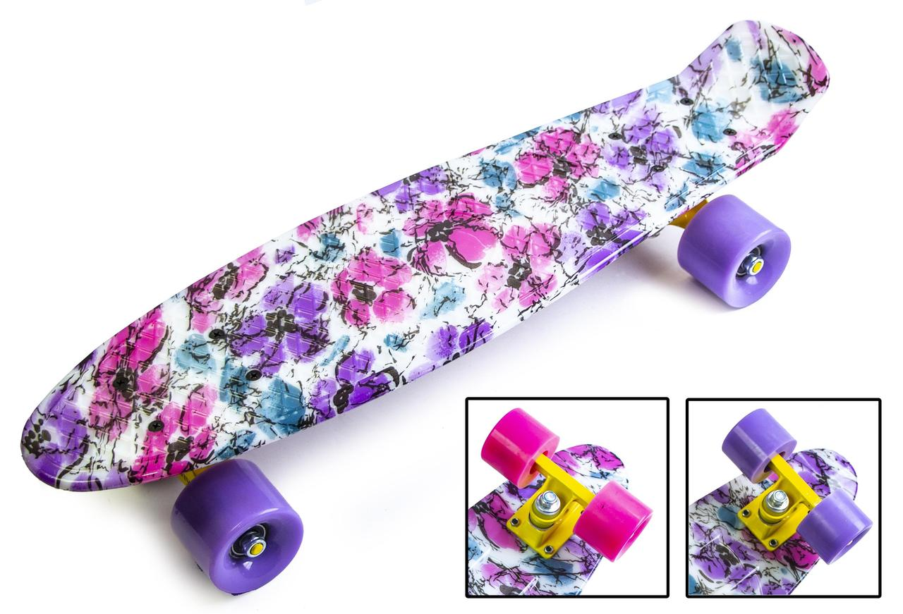 "Penny Board "" Flowers chamomile"""