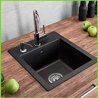 Кухонная гранитная мойка Formini 500/420/200
