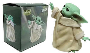 Фигурка SELLWORLDER Звёздный войны Мандалорец Бейби Йода Baby Yoda 8 см ST M BY 01