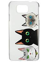 Чехол с рисунком для Samsung G850F Galaxy Alpha (SM-G850F) Пластмасса, Для телефона, 1, Samsung