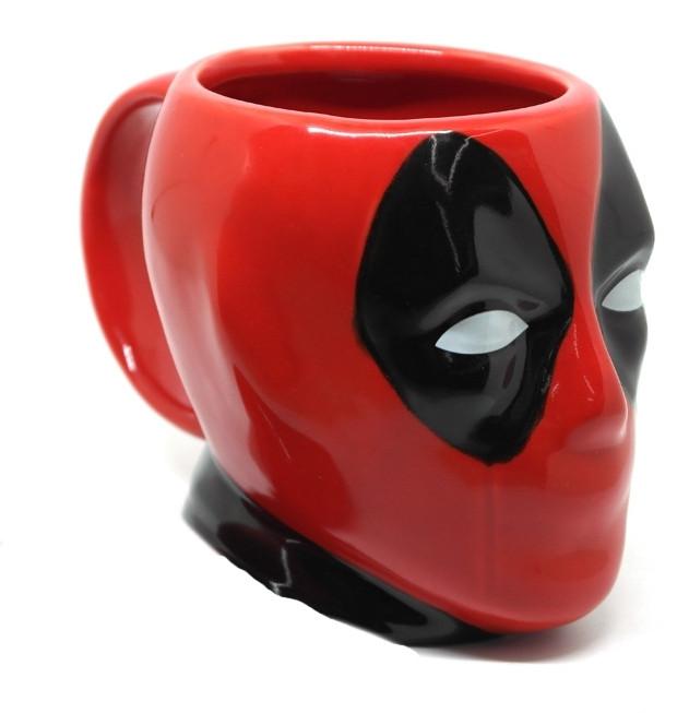 Кружкакерамическая 3D Дэдпул Deadpool без крышкиDP mug