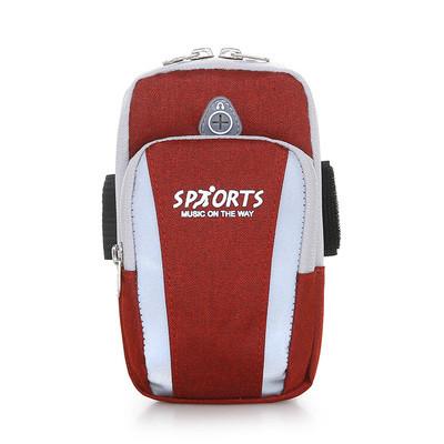 Cумка красная для бега Sports, сумка - чехол на руку