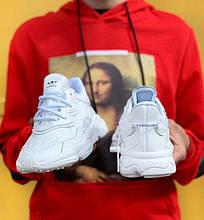 Мужские кроссовки Adidas Ozweego в стиле Адидас Озвиго БЕЛЫЕ (Реплика ААА+)