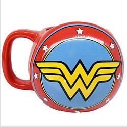 Кружка керамическая 3DСупервумен Чудо-Женщина Wonder Woman MugWW10.024