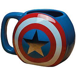 Кружка керамическая 3DКапитан Америка Captain America MugСА10.024