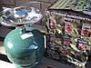 Туристический газовый баллон-пикник с горелкой объемом 5 литров Rudyy пр-во Италия, фото 4