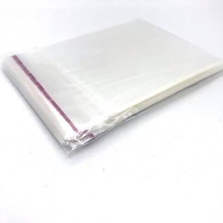 Пакети поліпропіленові з клейкою стрічкою.